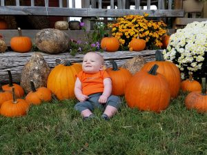 wagle-baby-with-pumpkin-display